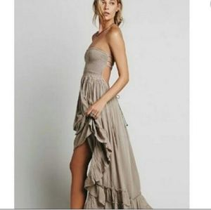 Free People Maxi dress size M S(used)
